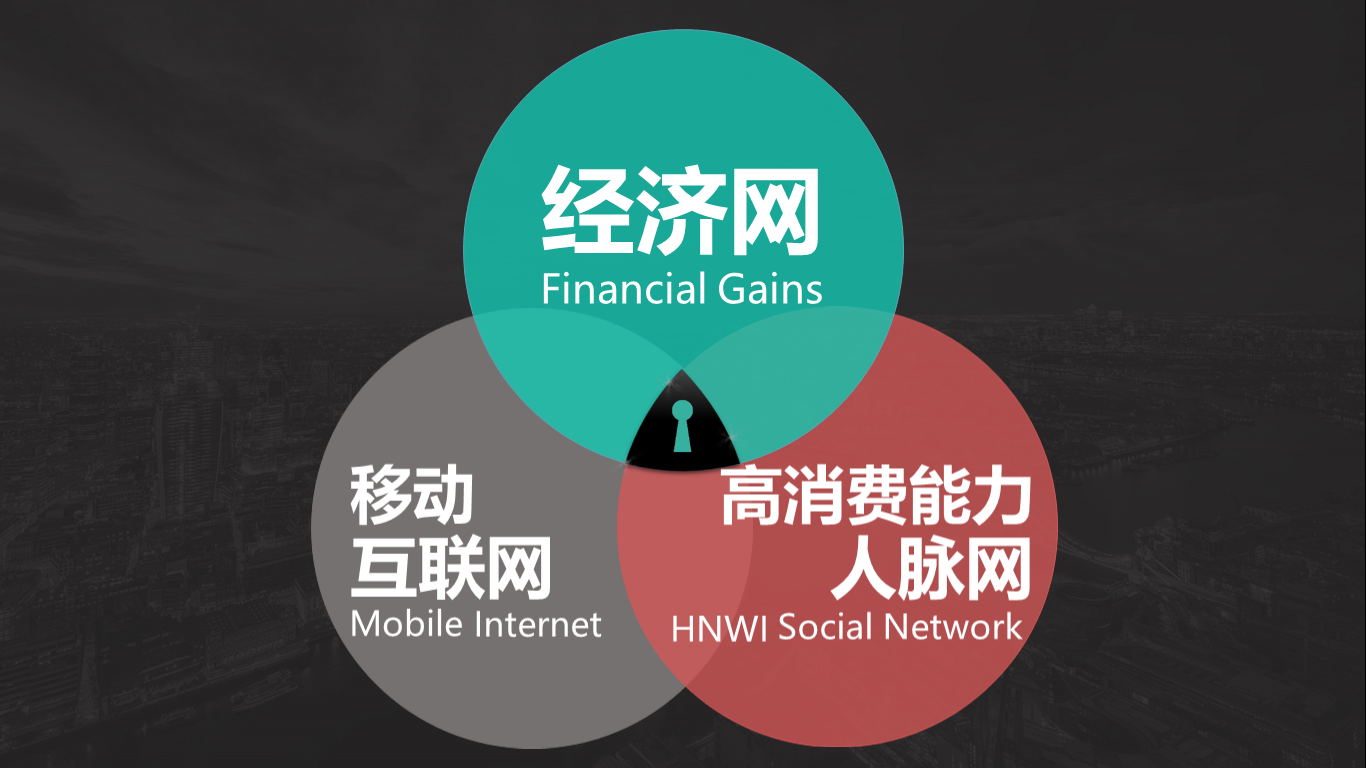 Mobile Internet - HNWI Social Network - Financial Gains